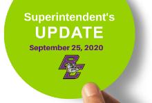 Instructional Status Level Update - 9/25/2020