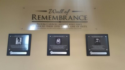 BCLSD & Class of 1967 Unveil The Wall of Remembrance