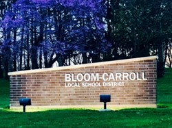Picture of Bloom-Carroll Sign