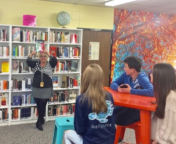 BCHS Media Center Receives State Library of Ohio Grant