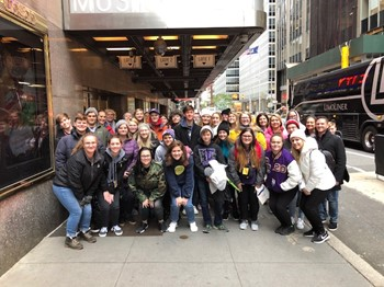 BCHS Choir Students Perform in New York City