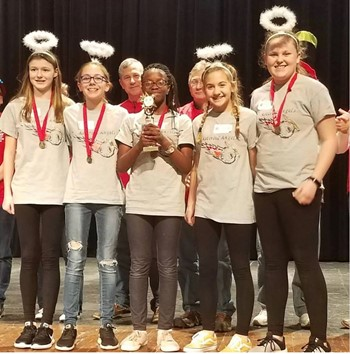 BCMS Robotics earns Strategy and Innovation Award