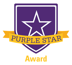 BCHS receives Purple Star Designation