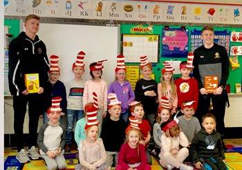 Read Across America Week at BC Primary