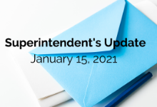 Superintendent's Update: January 15, 2021