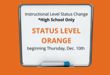 High School Transitions to Status Level Orange