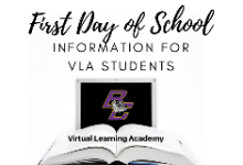 Back-to-School Information for VLA Students