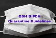 ODH & FDH Quarantine Guidelines