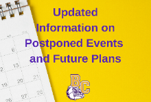 Postponed Events & Future Plans
