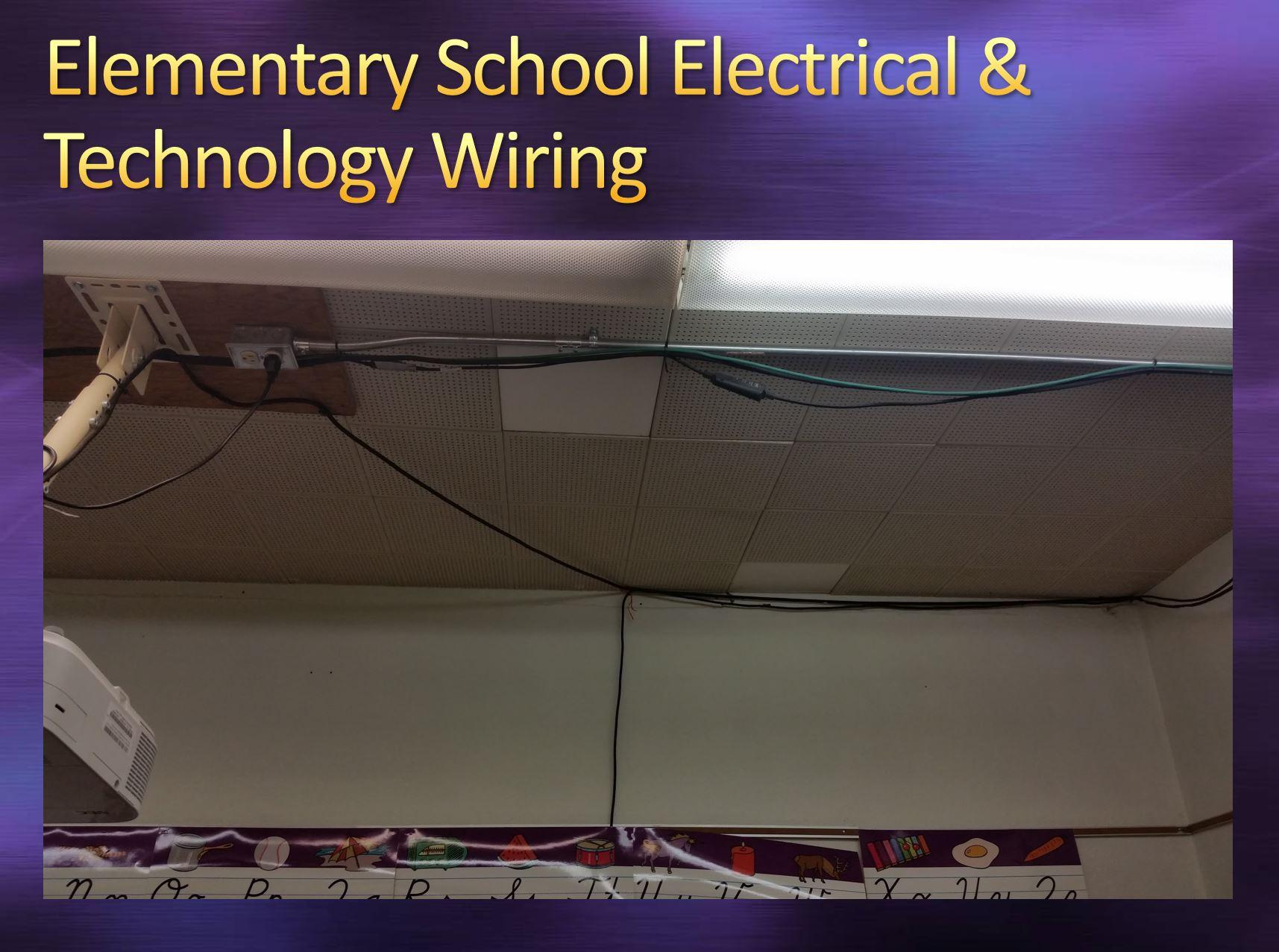 Elementary School Technology wiring