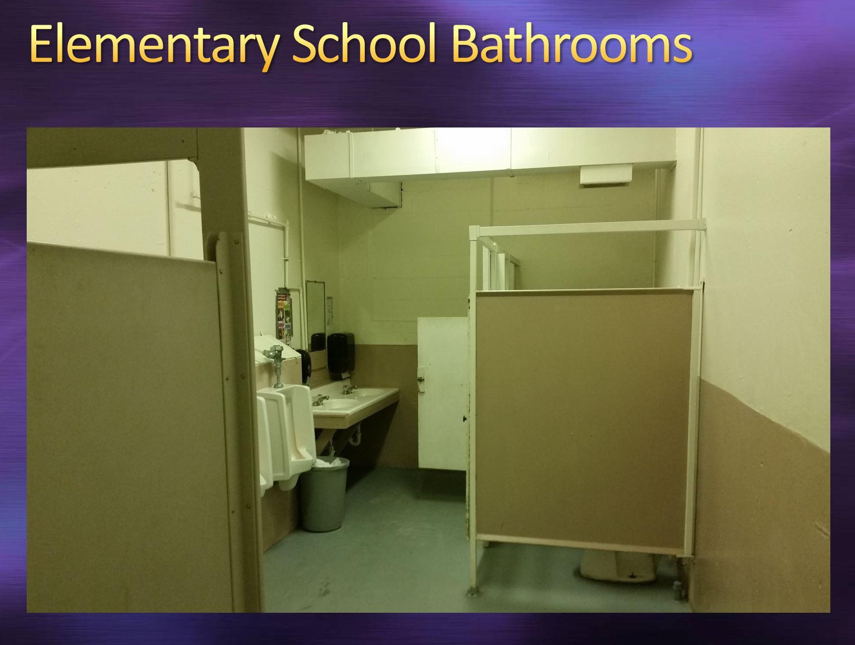 Elementary School Bathrooms