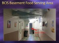 BCIS Basement Food Serving Area