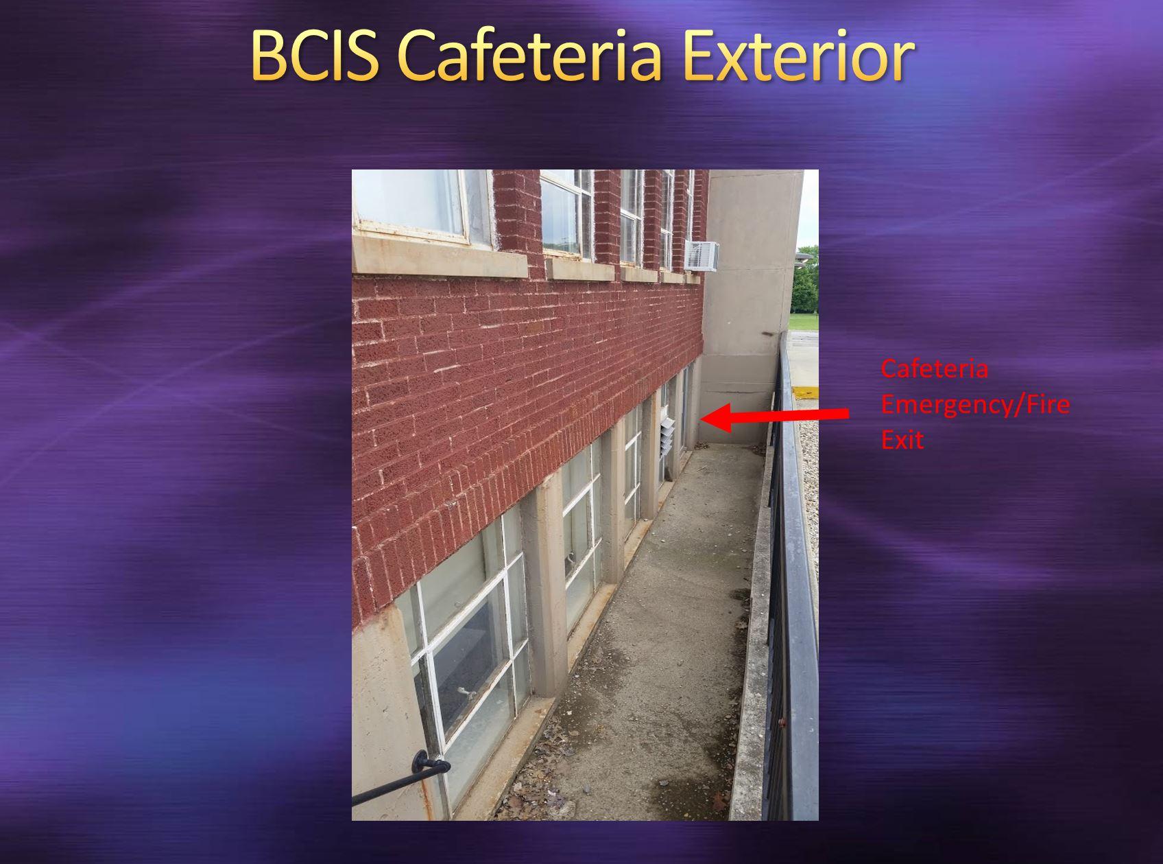 BCIS Cafeteria Exterior