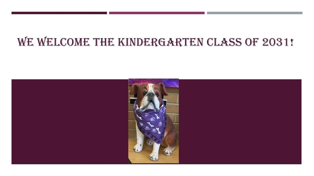 Welcome class of 2031!