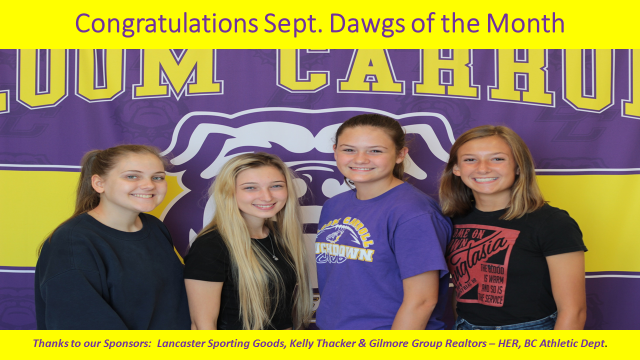 Dawgs of the Month