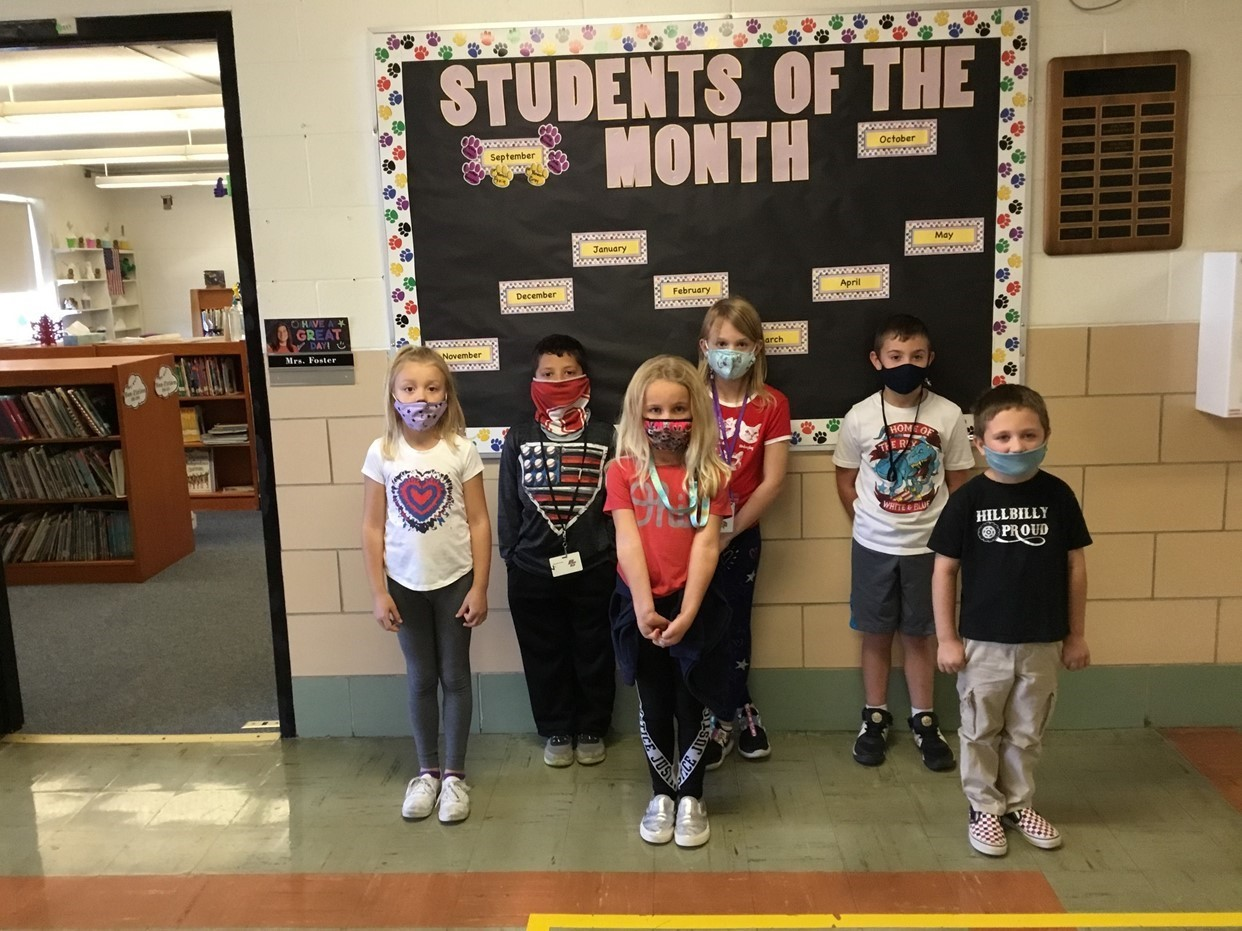 October Students of the Month 2020