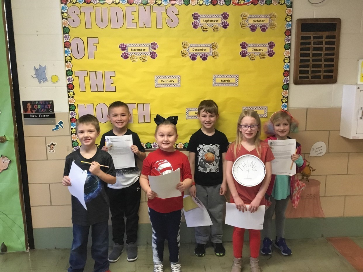 February Student's of the Month