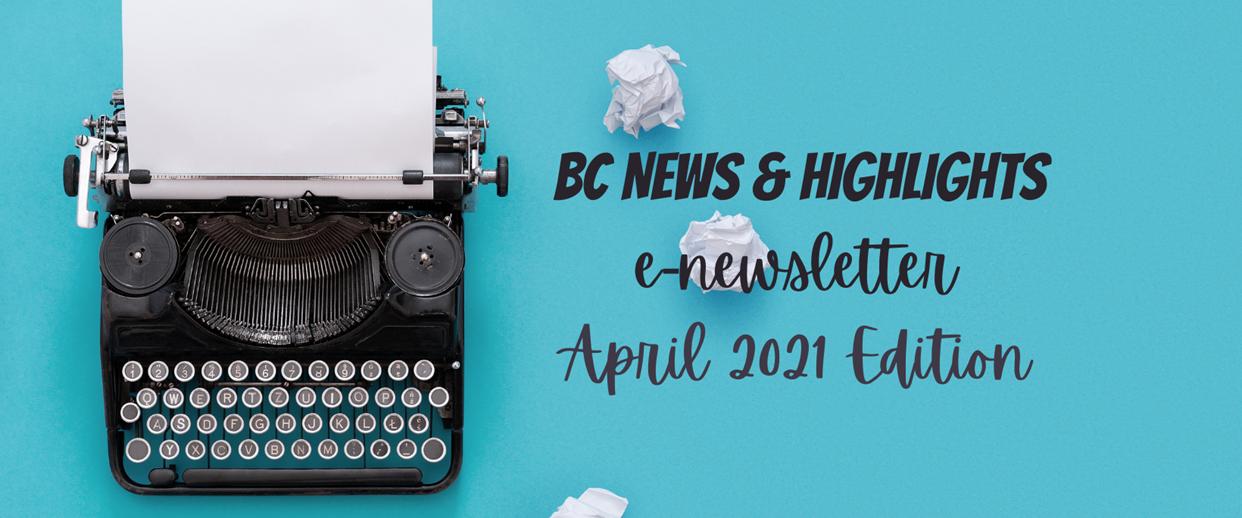 Newsletter - April