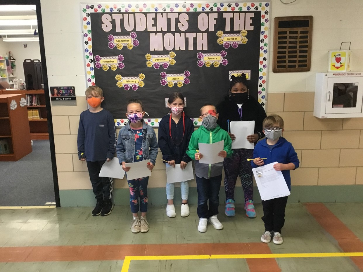 May Student's of the Month