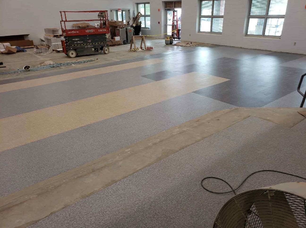 Cafeteria Floor