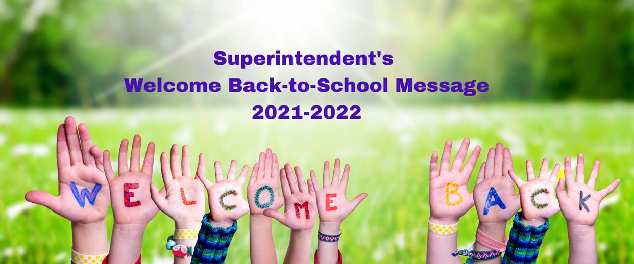 Superitendent's Message